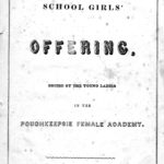 Poughkeepsie Female Academy program 1853